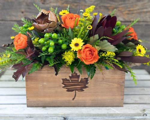 Assorted seasonal bouquets